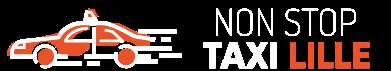 Logo blanc Non-Stop Taxi Lille
